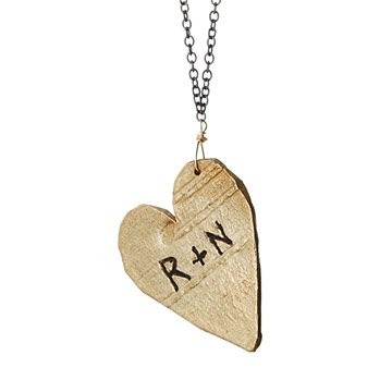 Personalized Lover's Birch Necklace