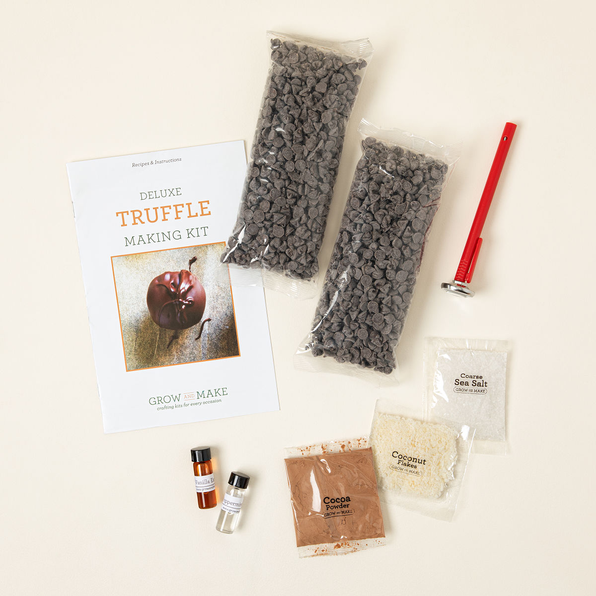 Make Your Own Chocolate Truffles Kit   Chocolate truffle recipe ...