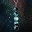 Moon Phase Necklace 2 thumbnail