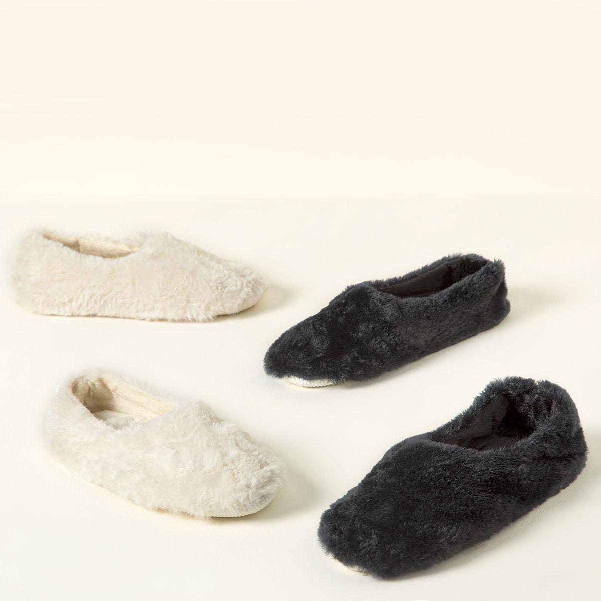 ballerina herbal warming slippers aromatherapy uncommongoods