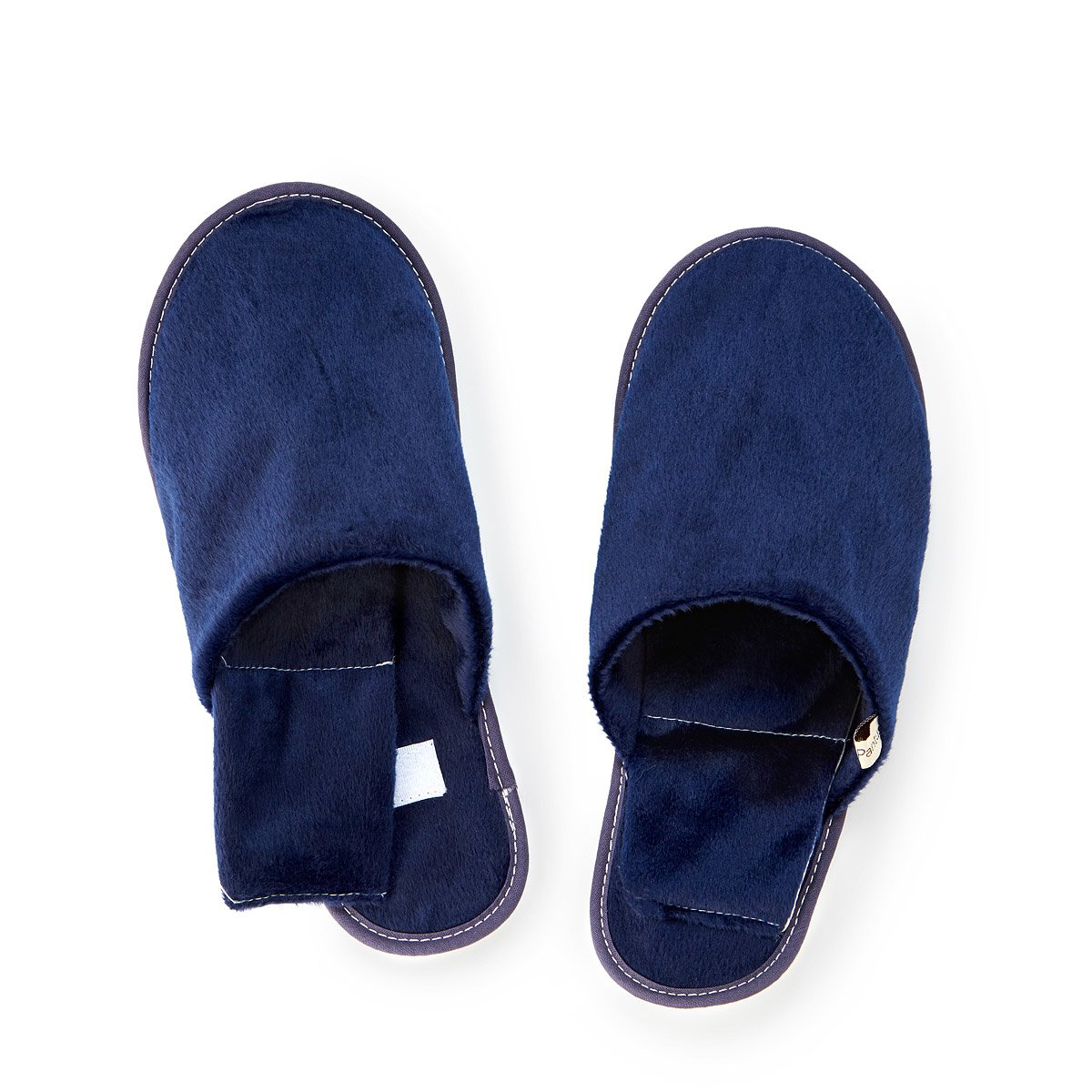 3b2a325b795c Men s Herbal Warming Slippers. Soothe your sensitive soles with these ...