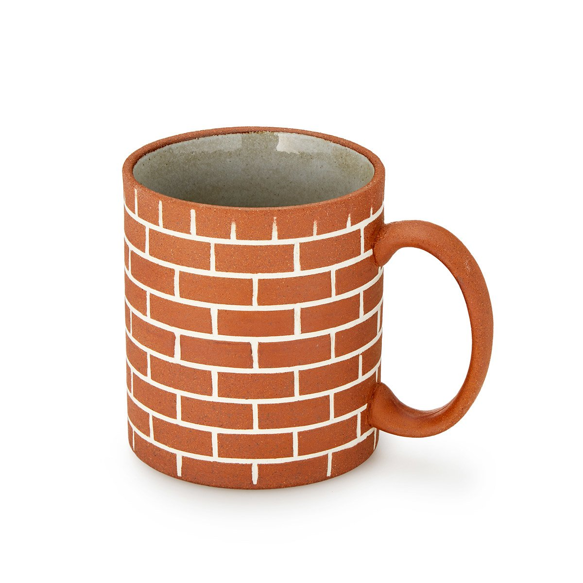 stylish design ideas unique coffee cups. Brick Wall Mug Ceramic Greek Coffee Cup  We Are Happy To Serve You Diner