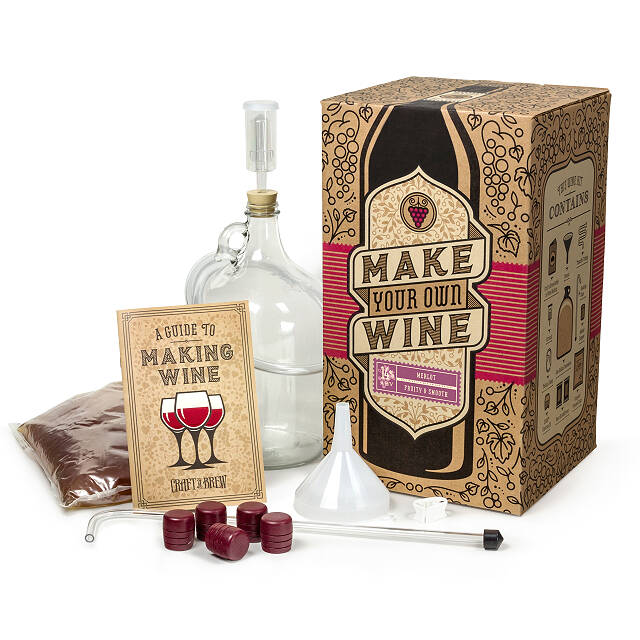 Merlot Wine Making Kit
