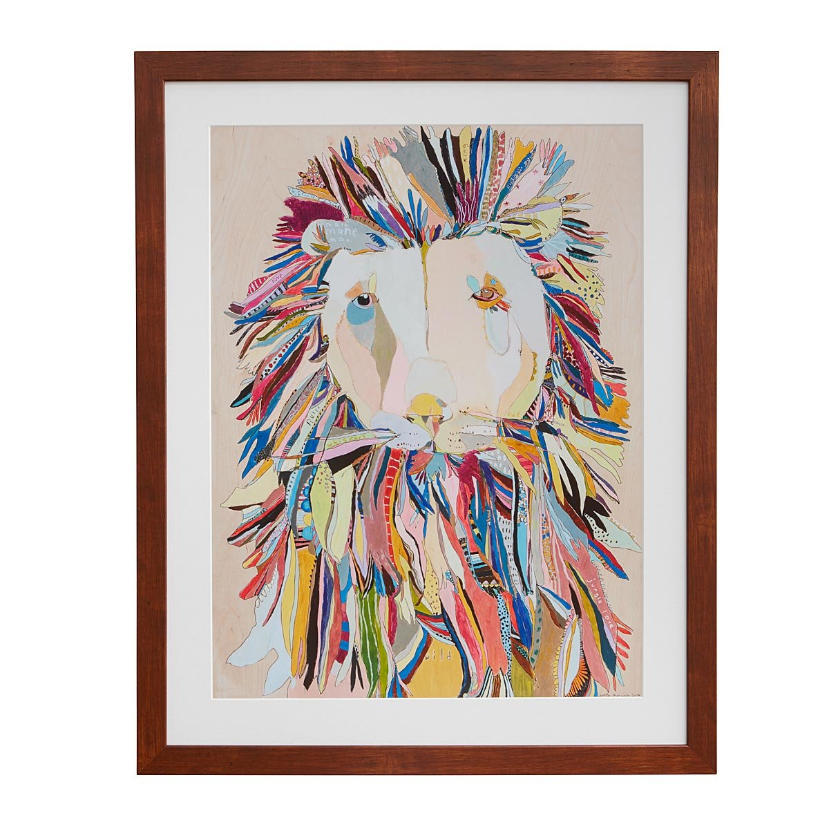 Dog blueprints framed wall art dog breeds uncommongoods brian the lion malvernweather Images