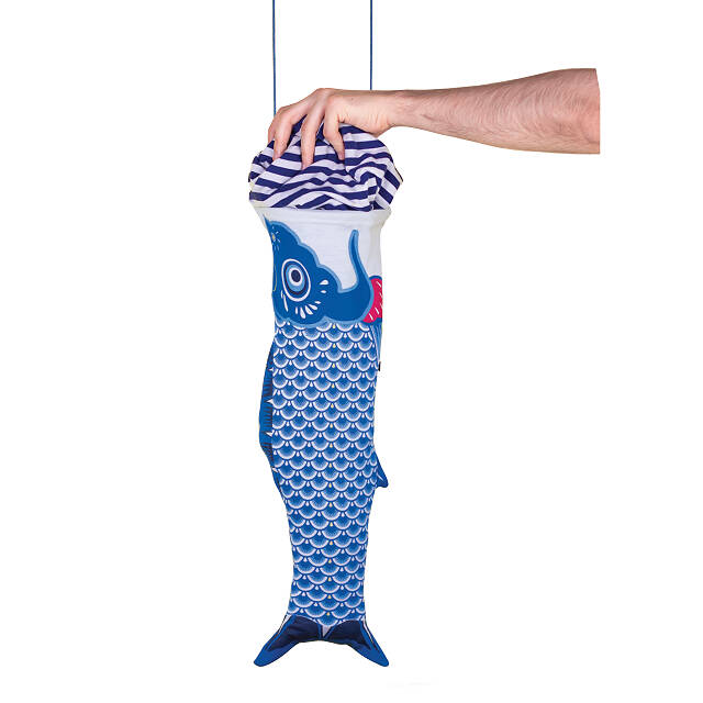 Colorful Koi Travel Laundry Bag
