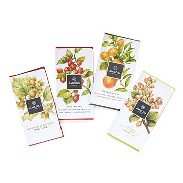 Gourmet Tuscan Chocolate Bars - Set of 4