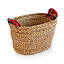 Large Seagrass Nesting Sari Baskets - Set of 3 2 thumbnail