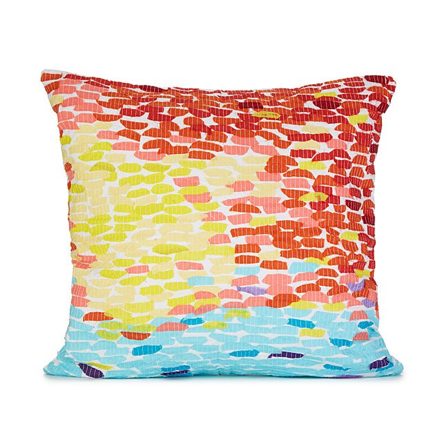 Mosaic Sunset Pillow