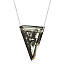 Smokey Triangle Marble Necklace 2 thumbnail