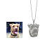 Personalized 3D Pet Face Pendant 2 thumbnail