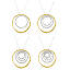 Circle of Life Nesting Rings Necklace 2 thumbnail