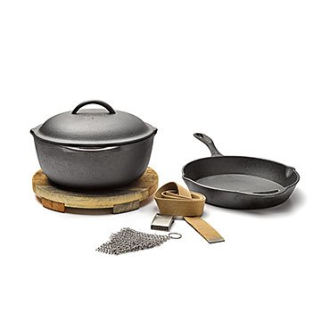 Cast Iron Cooking Set