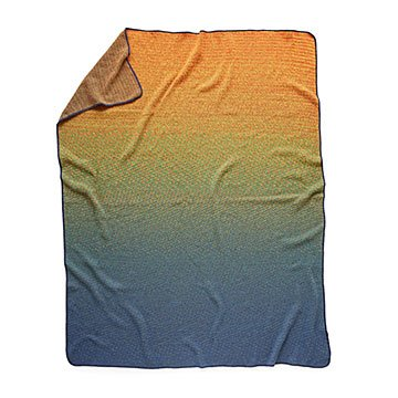 Rustic Sunset Throw