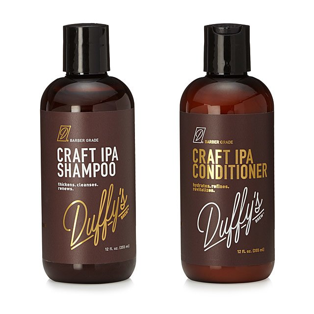 Craft IPA Beer Shampoo & Conditioner