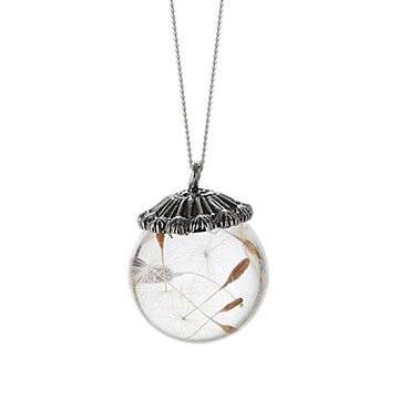 Make A Wish Dandelion Necklace