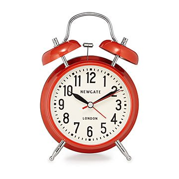 London Retro Alarm Clock