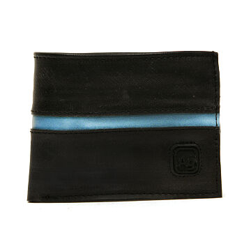 Reclaimed Bike Tube Reflective Wallet
