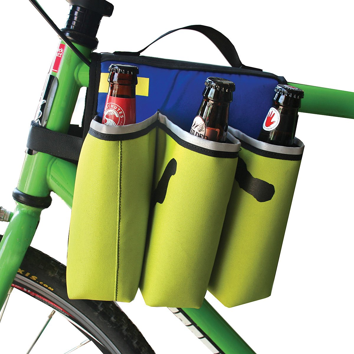 Bike Six Pack Holder Beer Caddy Bike Bag Uncommongoods