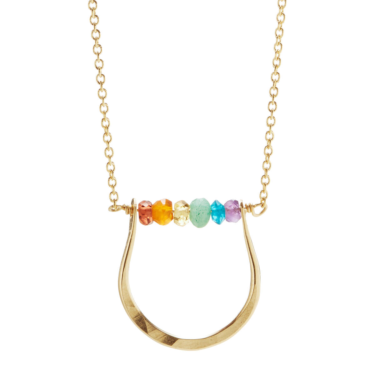 coeur rainbow necklace geo cube necklaces lion image de