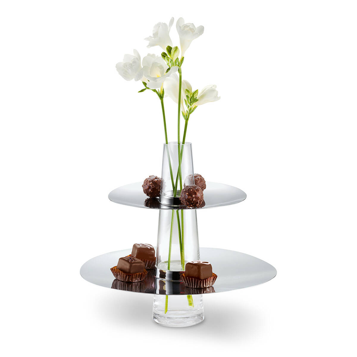 two tiered serving tray vase 3 thumbnail