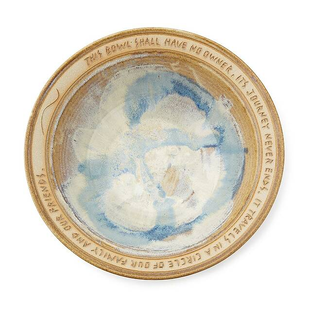 Circle of Family and Friends Serving Bowl