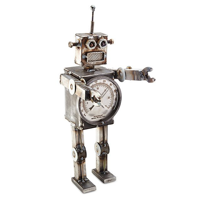Retro Robot Sculpture