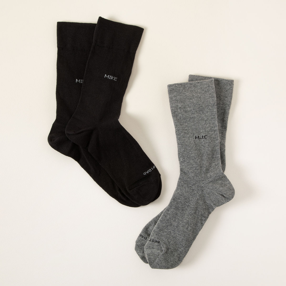 Gifts For Men Part - 17: Customizable Personalized Socks- Set Of 5 Pairs