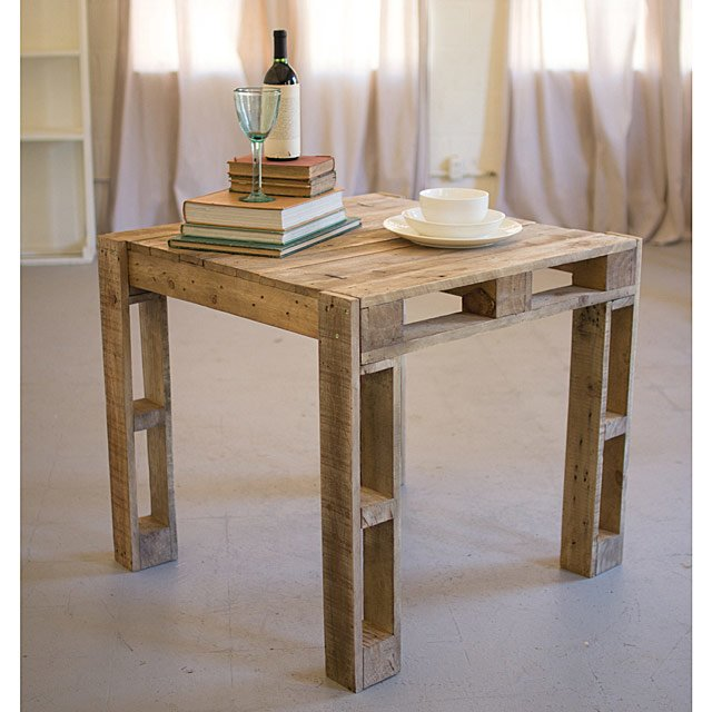 Recycled Wood Crate Table