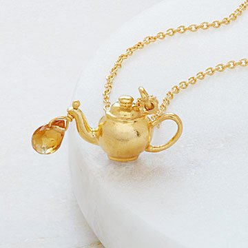 Spot of Tea Necklace