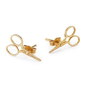 Sewing Scissor Stud Earrings