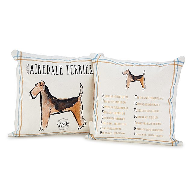Pedigree Poem Pillow | Dog Lover Gifts | UncommonGoods