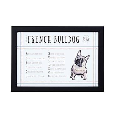 Dog blueprints framed wall art dog breeds uncommongoods pedigree poem art malvernweather Image collections