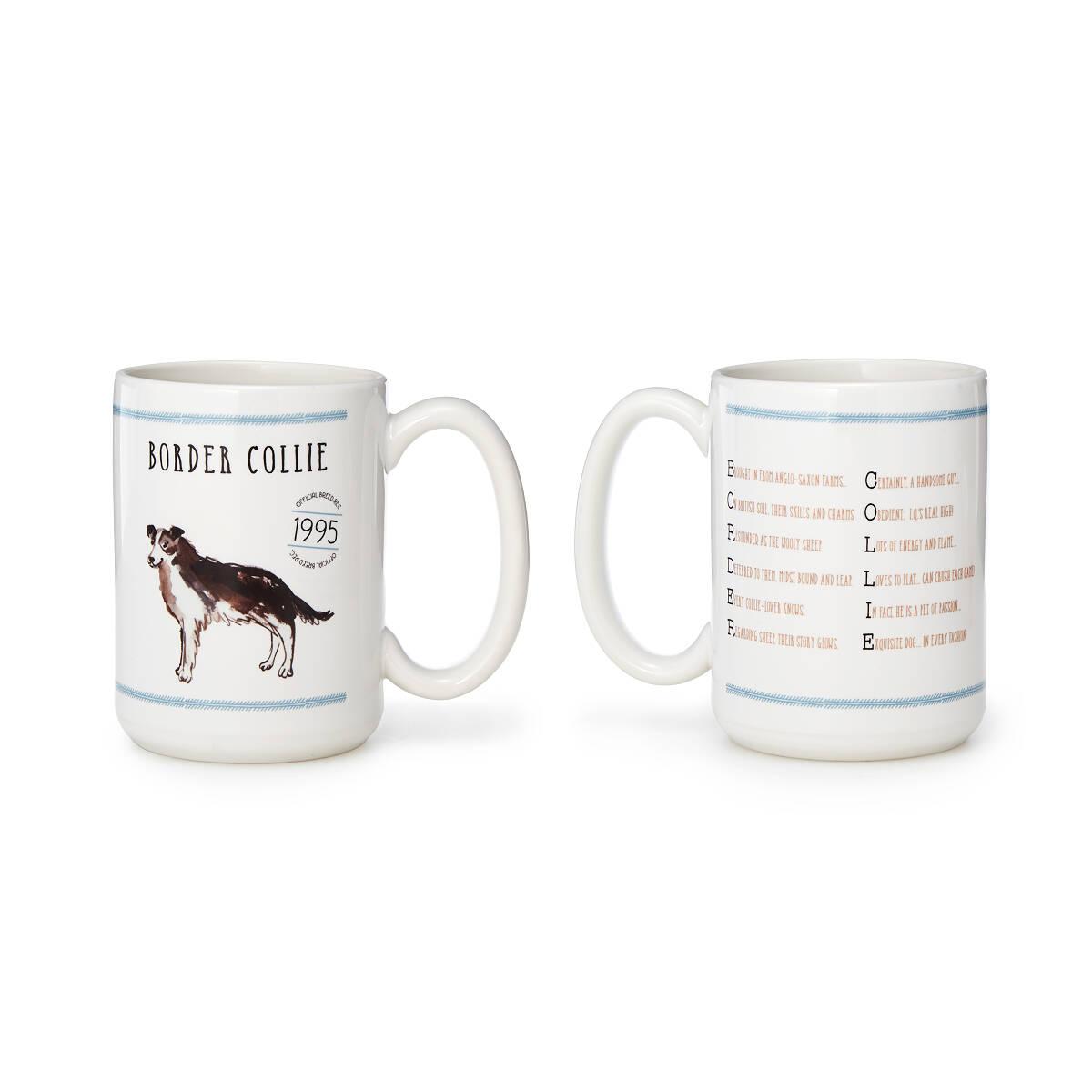 pedigree poem mugs set of 2 dog lover gifts uncommongoods