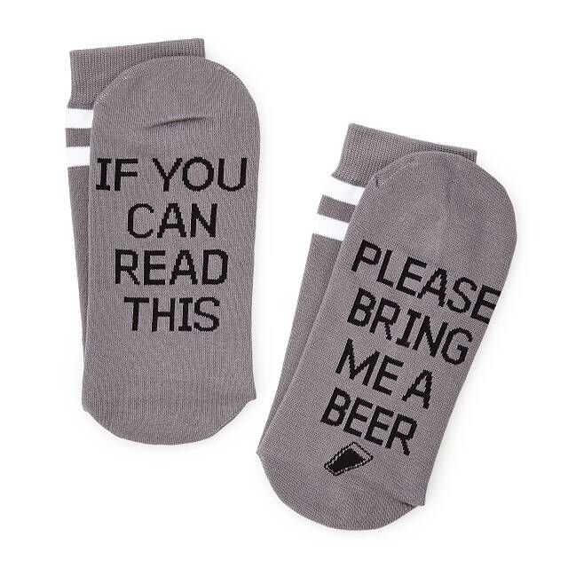 Please Bring Me Beer Men's Socks