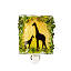 Recycled Glass Giraffes Nightlight 2 thumbnail