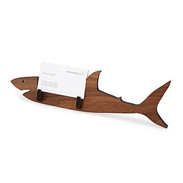 Unique card cases uncommongoods shark business card holder colourmoves