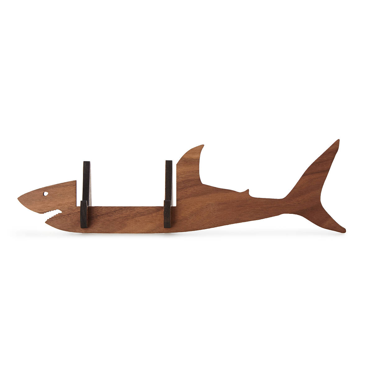 Shark Business Card Holder | Desk Accessories, Walnut Wood ...