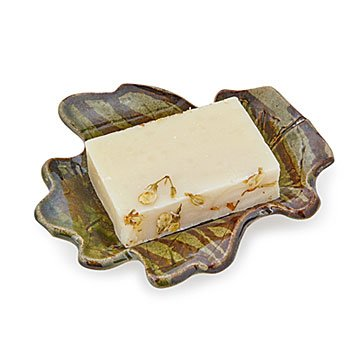 Leaf Impression Soap Dish