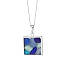 Sea Glass Mosaic Necklace 2 thumbnail