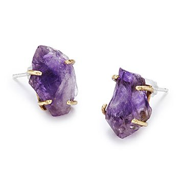 Amethyst Talisman Earrings