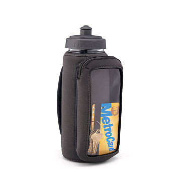 Fitness Bottle with Phone Holding Sleeve