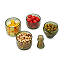 Stackable Appetizer Dish Set 3 thumbnail