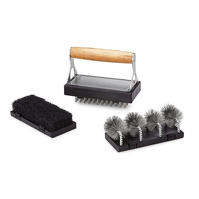 Interchangeable BBQ Cleaner Set