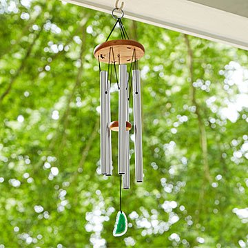 Celtic Inspired Agate Wind Chime