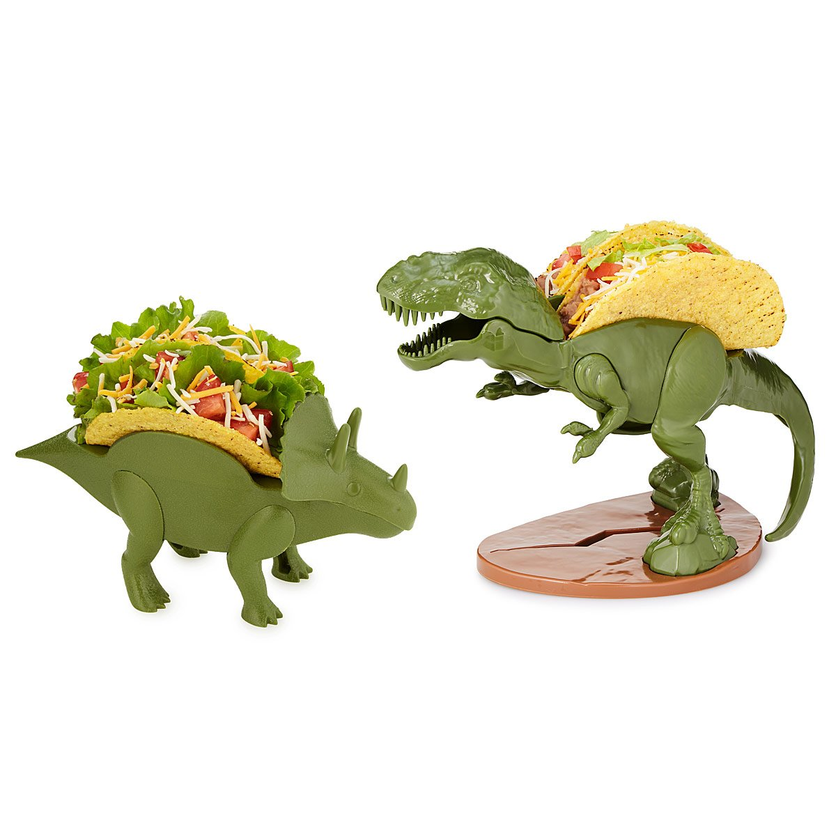 dinosaur taco holders triceratops dinosaur themed party