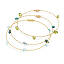 Reclaimed Guitar String Gemstone Bangles 3 thumbnail