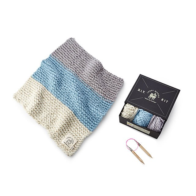 Little One's Blanket Knitting Kit