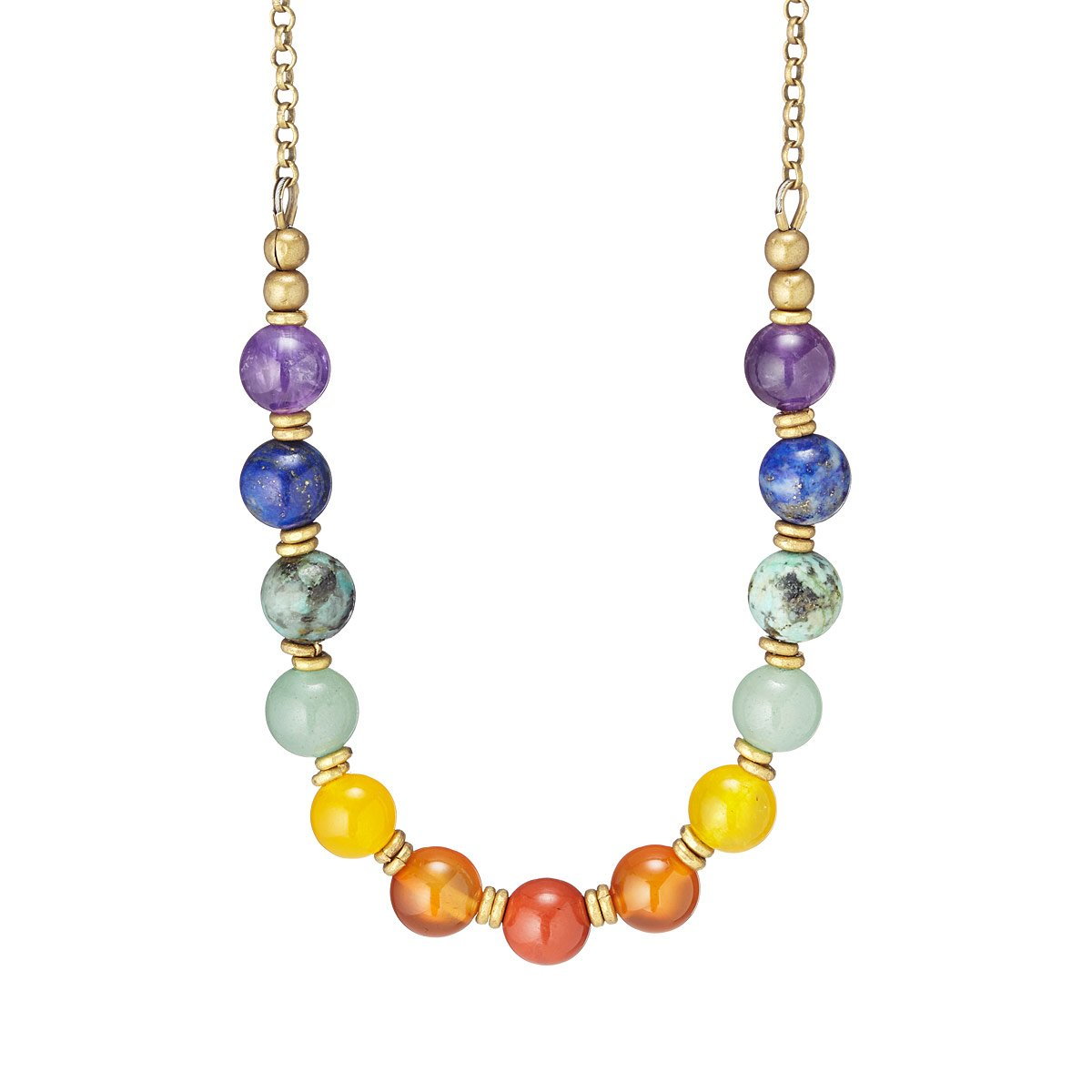 copy products gemstone half apriljuly circle necklace