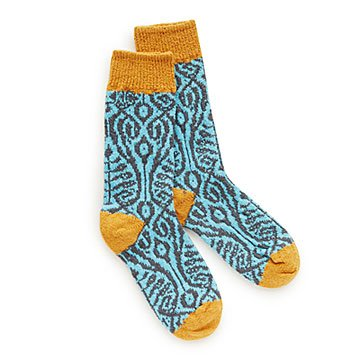 Patterned Paradise Zero Waste Socks