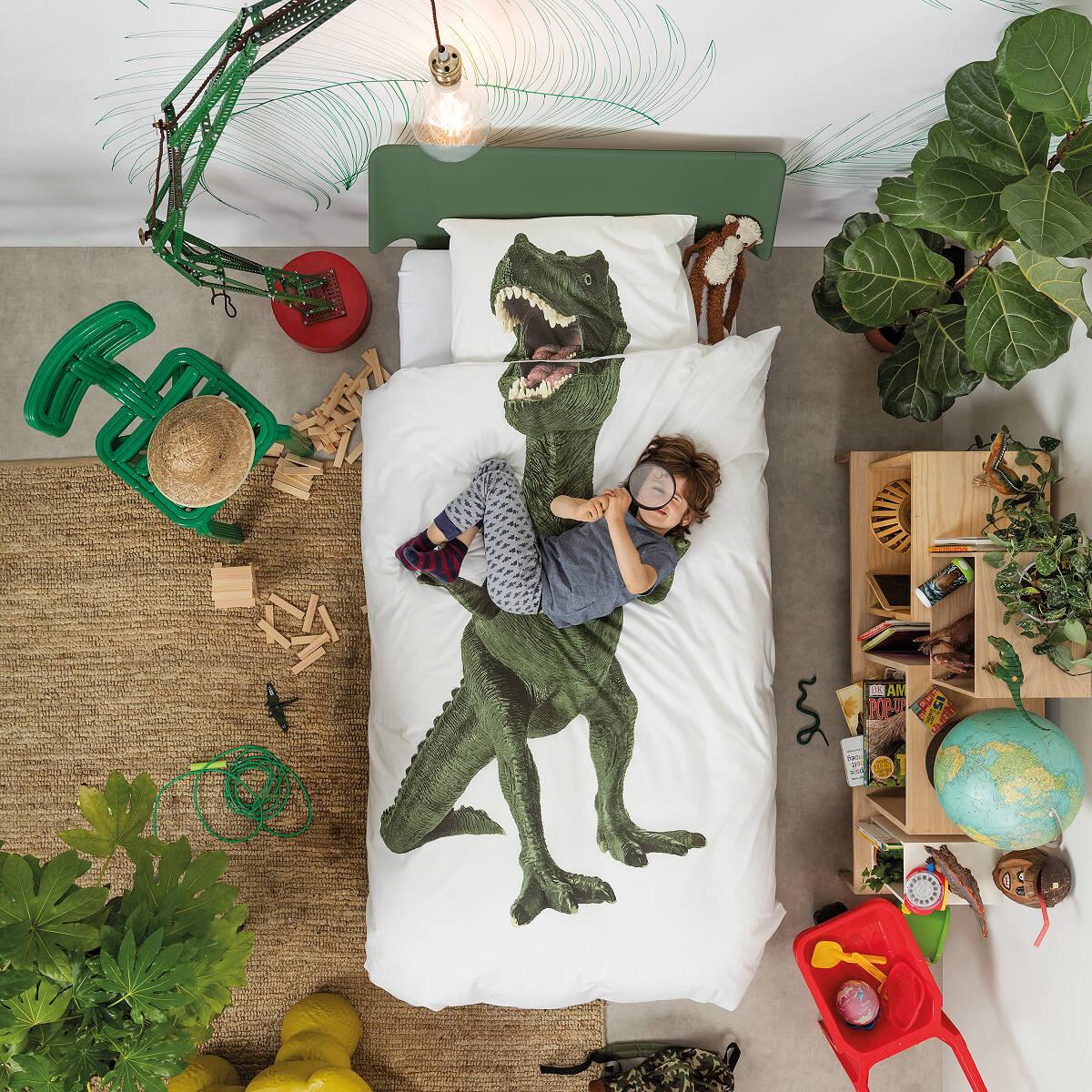 Dinosaur Duvet And Pillowcase Set 2 Thumbnail